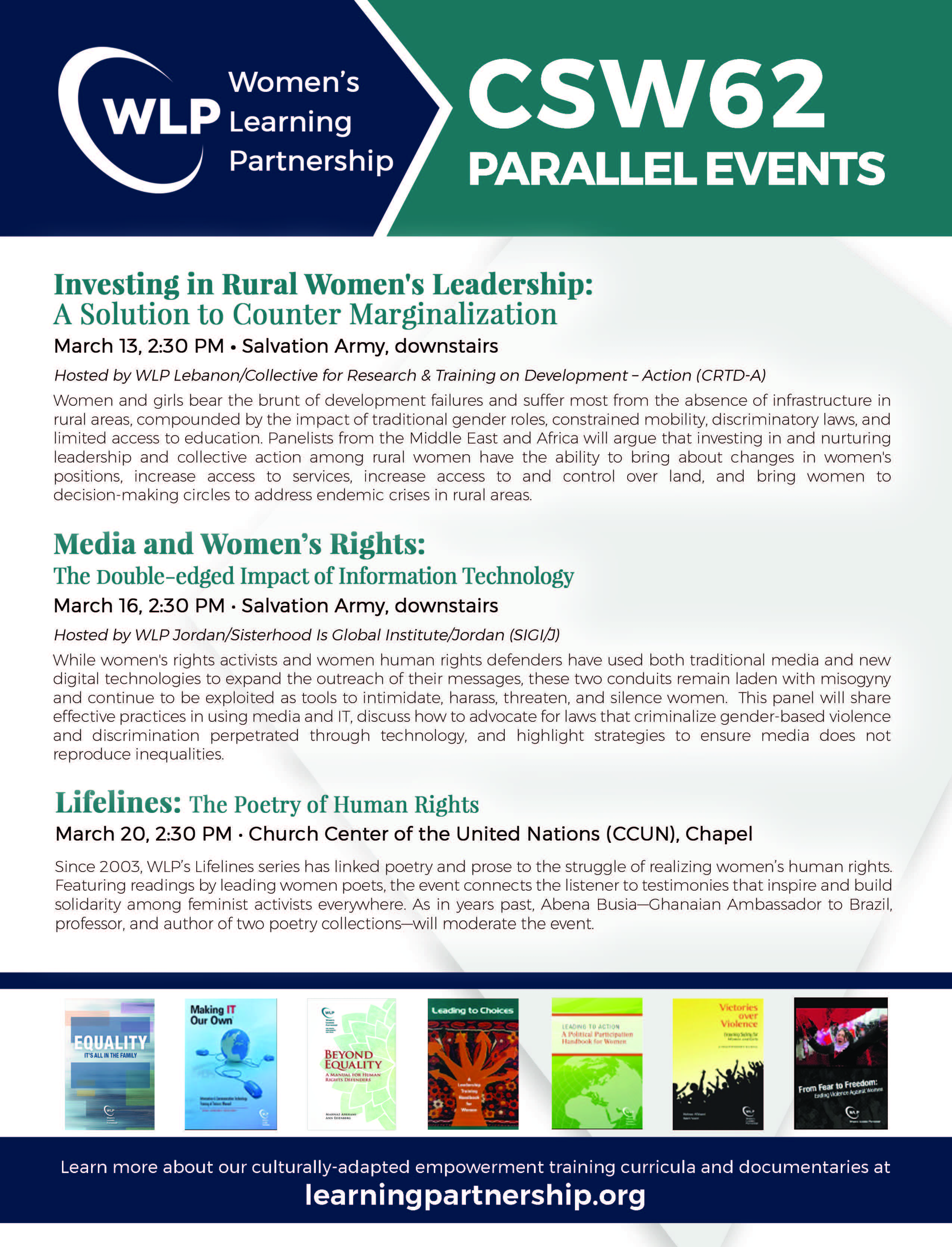 2018 CSW parallel events