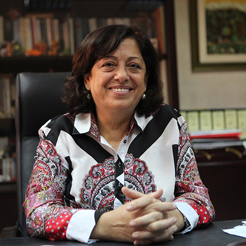 Asma Khader aims to end violence against women in Jordan.