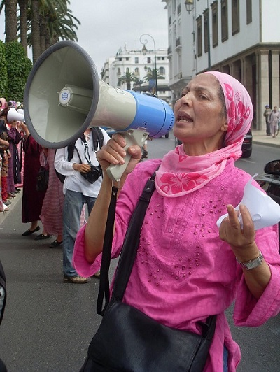 Morocco Soulaliyate Women Protest 2013