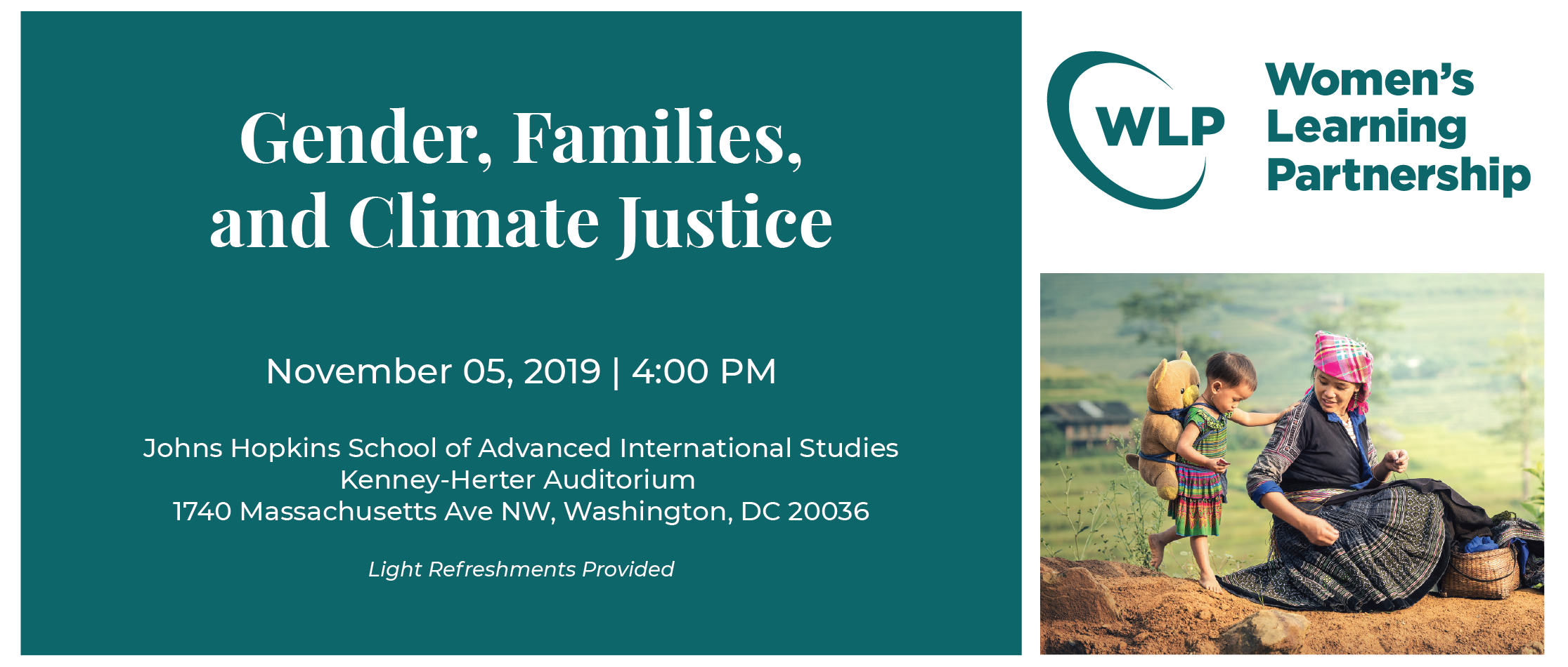 Gender, Families, Climate Justice- PROMO