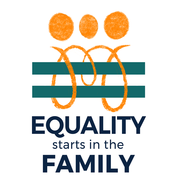 Equality Starts in the Family campaign logo