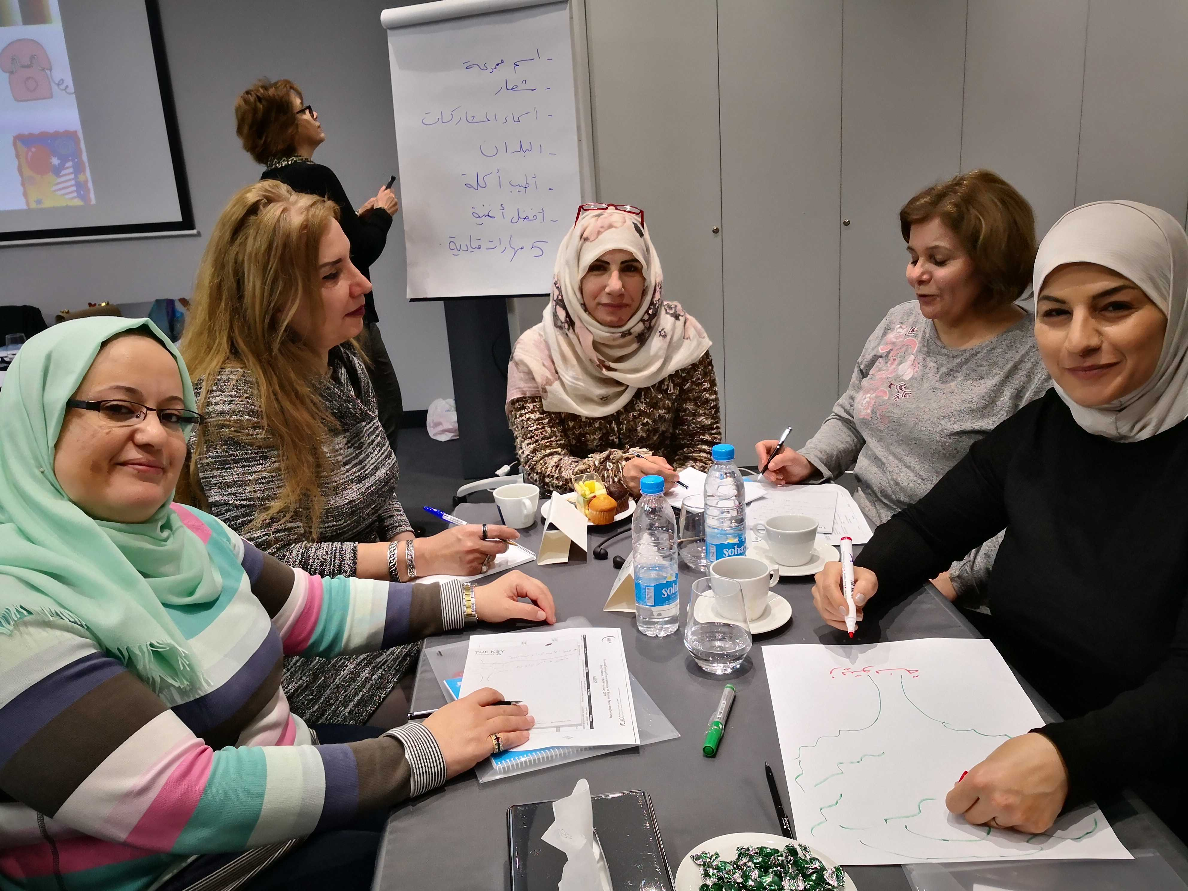 Amal and Group at Beirut WPS RTOT