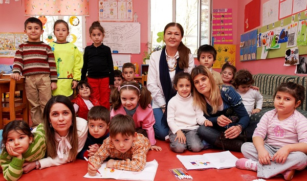 Human Security Turkey childcare center