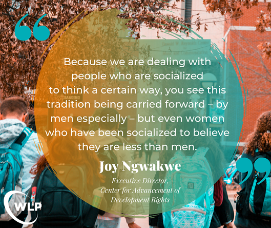 Joy Ngwakwe IU2U Quote