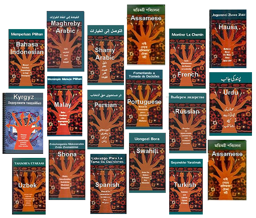 Leading to Choices manual in 20 languages