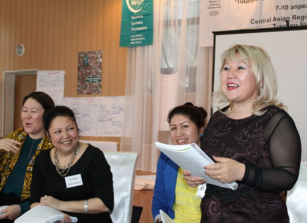 Kazakhstan Women's Leadership and Political Participation Training 2013