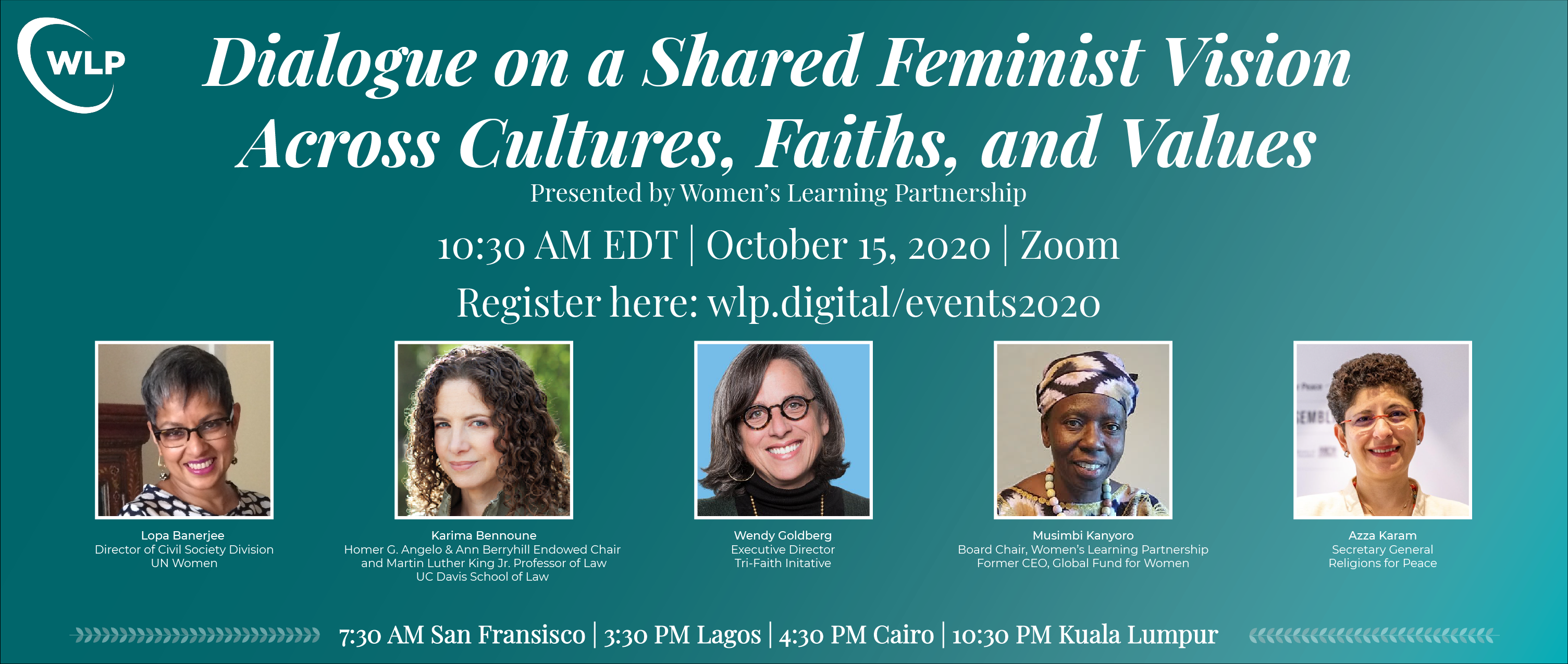 Shared Feminist Vision on Culture Event Promo