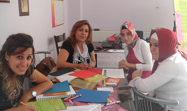 Participants at TOT in Turkey