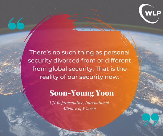 Soon-Young Yoon IU2U Quote