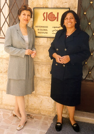 Mahnaz Afkhami and Asma Khader are leaders in the global women's movement.